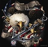 Rothco Bi US Navy Eagle T-Shirt, Large