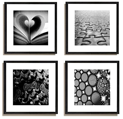 4pcs-x-black-and-white-famous-building-motivational-office-picture-photo-wood-black-frame-safe-light