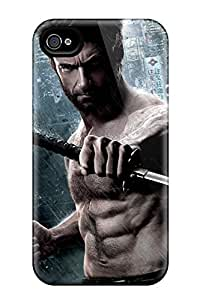 Snap-on 2013 The Wolverine Movie Case Cover Skin Compatible With Iphone 4/4s