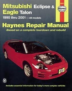 mitsubishi eclipse 1990 98 chilton repair manuals chilton rh amazon com 1995 Mitsubishi Eclipse 1996 mitsubishi eclipse service manual