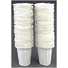 K Carafe Compatible Paper Disposable Filters, Paper K Carafe Filter Cups-(90 Filters)
