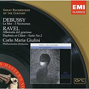 Debussy: La Mer; 3 Nocturnes / Ravel: Alborada del garcioso; Daphnis et Chloé - Suite No.2