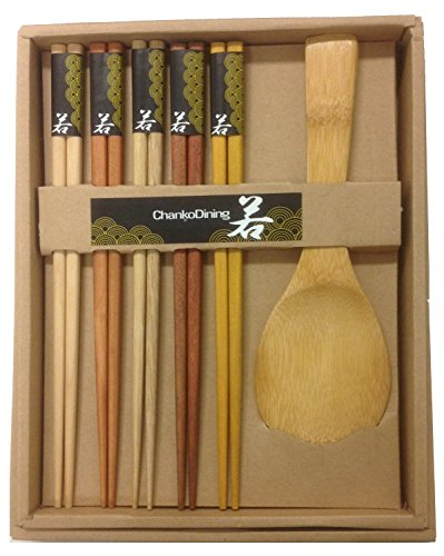 JapanBargain 2660 Chopsticks Rice Paddle, Natural