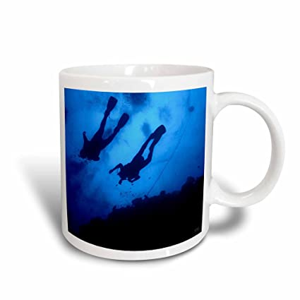 Buy 3drose Mug 45516 3 Scuba Diving In The Great Reef Barrier In Queensland Australia Magic Transforming Mug 11 Oz Black White Online At Low Prices In India Amazon In