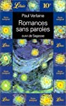 Romances sans paroles - Sagesse par Verlaine
