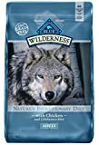 Blue Buffalo Wilderness High Protein Grain Free, Natural Adult Dry Dog Food, Chicken 11-Lb For Sale