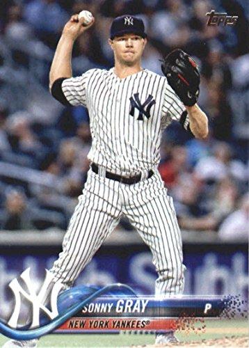 2018 Topps Baseball Series 2#469 Sonny Gray New York Yankees Official MLB Trading Card