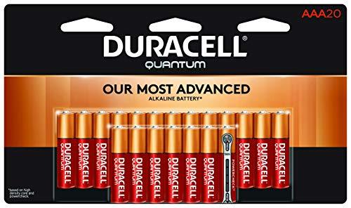 Duracell Quantum Alkaline Batteries, AAA 20 pack