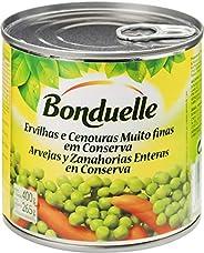 Ervilha e Cenoura Muito Finas em Conserva Bonduelle Lata Peso Líquido 400g