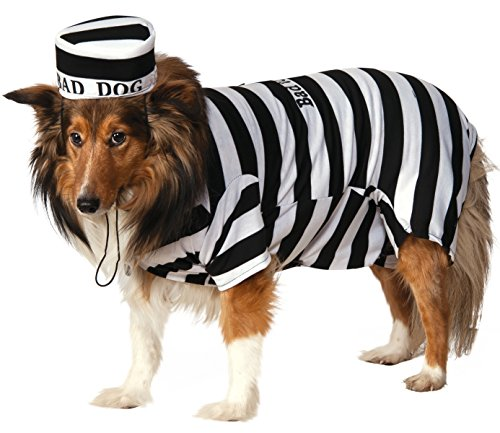 Prisoner Dog Pet Costumes (Rubie's Pet Costume, Small, Prisoner)