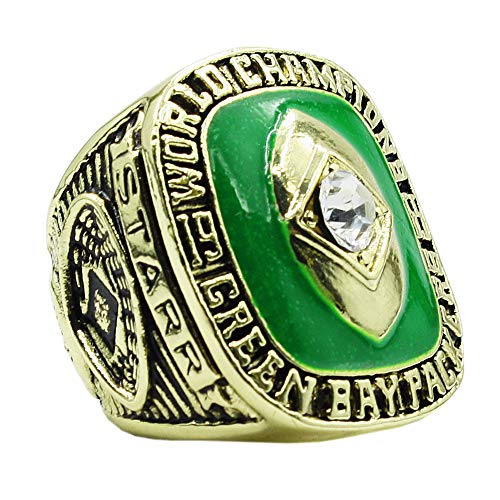 (DINO Man's The Year 1965 of Green Bay Packers Championship Rings,Size 13 )