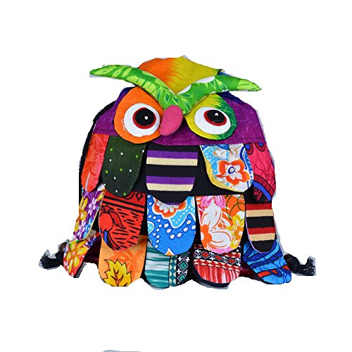 Dconfident Owl Backpack Purse for Women for Kids Cartoon Shoulder - For Sunglasses Shape Face Which