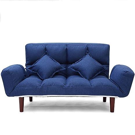 Amazon.com: ZXUE Lazy Sofá Cama Plegable Desmontable y ...