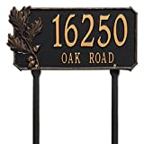 Orvis Oak Branch Address Plaque/Only House Plaque, Green