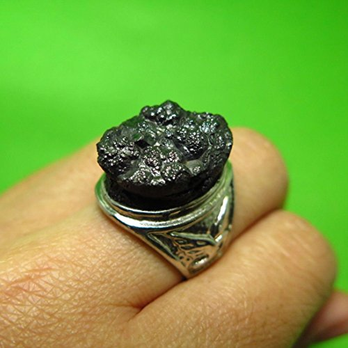 Mara Costume Jade (PERFECT PIECE GENUINE MINERAL LEK LAI RING AMULET PENDANT PROTECTION WITH SPECIAL)