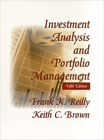Amazon.Com: Investment Analysis And Portfolio Management (The