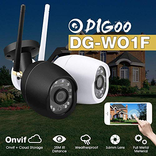Digoo DG-W01f Cloud Storage 3 6mm Lens 720P Wifi Wireless Security Camera  Outdoor 25m IR Distance Motion Detection Alarm Support Onvif Monitor by