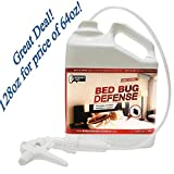 Exterminators Choice Bed Bug Defense All Natural Kills & Repels BedBugs, Insect Spray/Home bed bug Repellent & Killer/Spray for Bugs/Bug Repellent, 1 gallon, 128 oz