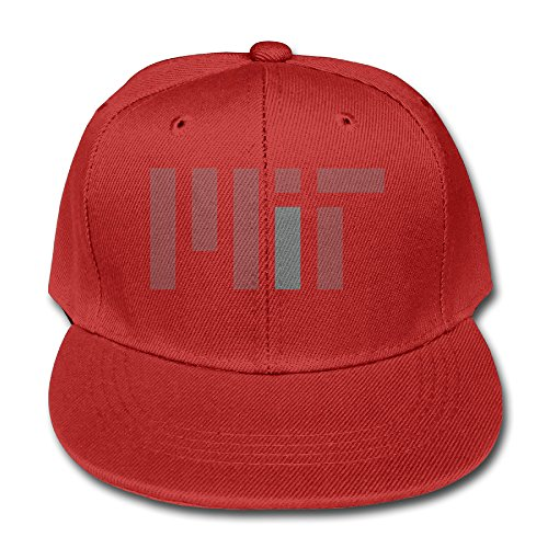 massachusetts-institute-of-technology-cotton-baseball-cap-boys-girls-snapback-hip-hop-flat-hat-red
