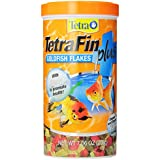 Tetra 77247 TetraFin PLUS Goldfish Flakes, 7.06-Ounce, 1-Liter