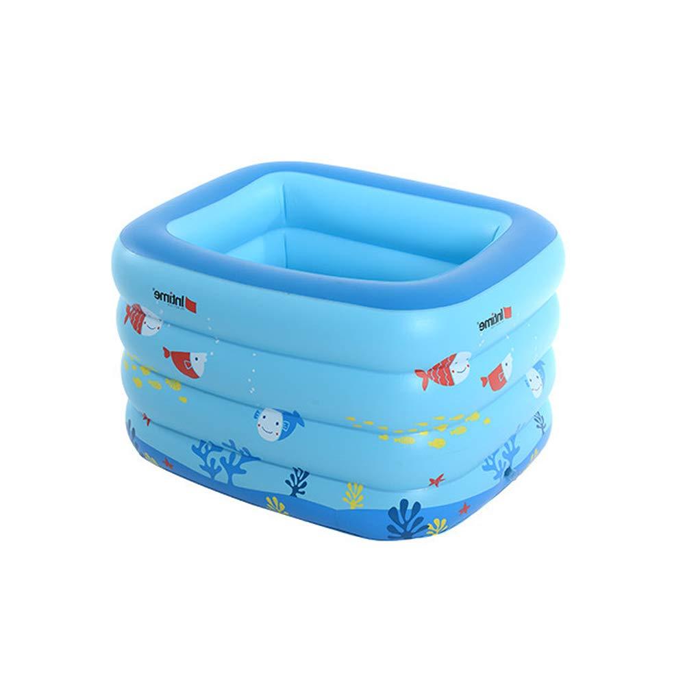 autorización oficial Azul 120x105x75cm ZDYG ZDYG ZDYG Piscina Inflable para niños, bañera Inflable, Parte Inferior de la Burbuja, Bomba eléctrica, Anillo de natación, Bola Marina, para niños bebés familias  buena reputación