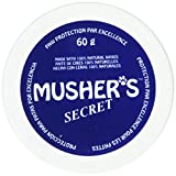 Musher's Secret Dog Pet Puppy Paw Protection Wax Moisturizer Invisible Boots Snow 60g.