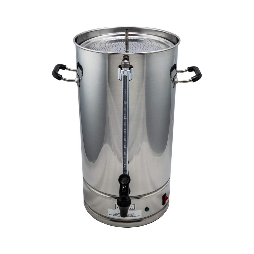 SYBO CP15-V2 Commercial coffee urn, 15 Liter, Metallic by SYBO (Image #2)