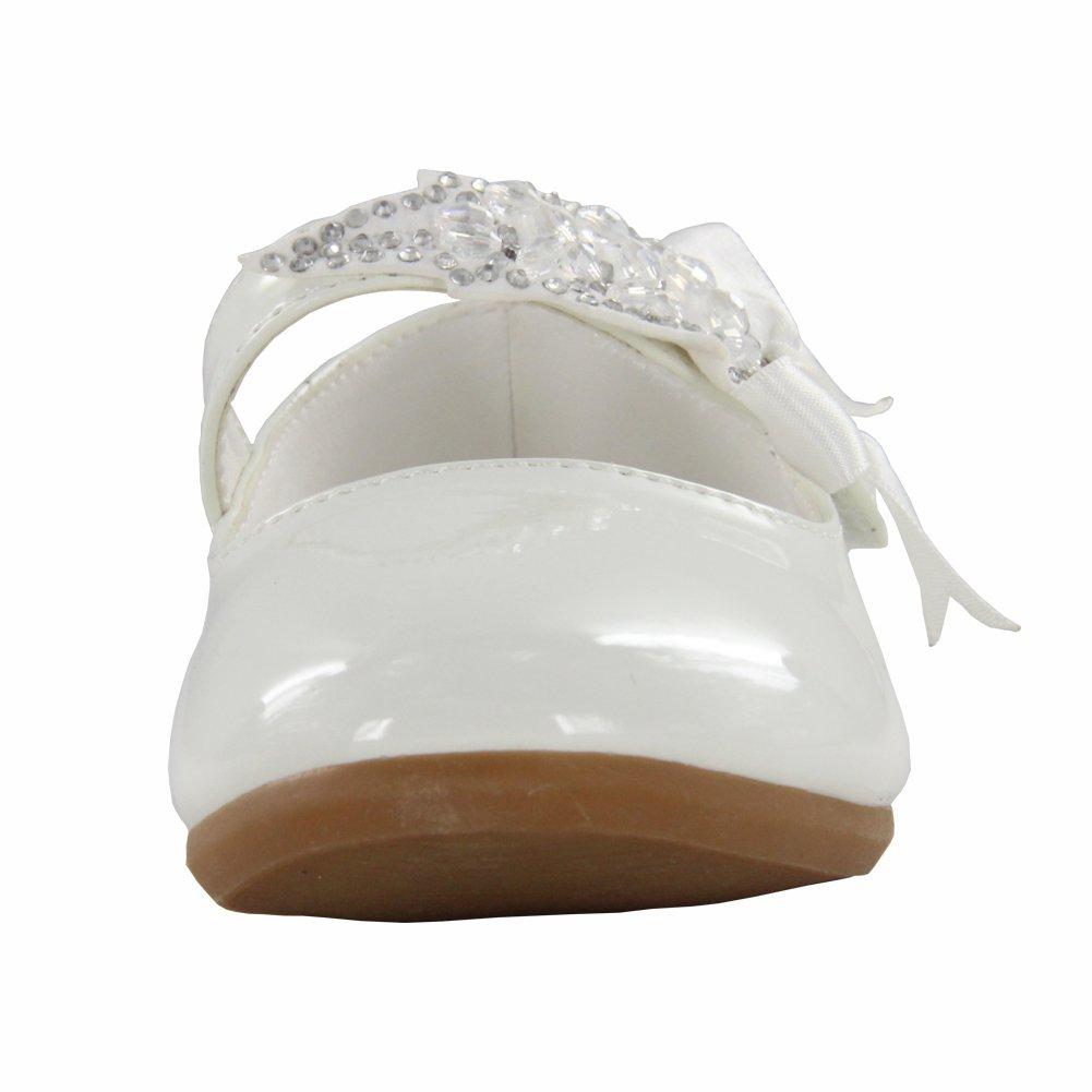 Maxu Little Girl Ballet Mary Jane Shoe,White,Little Kid,11M by Cixi Maxu E-Commerce.Co.Ltd (Image #5)