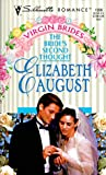 The Bride's Second Thought, Elizabeth August, 0373192886