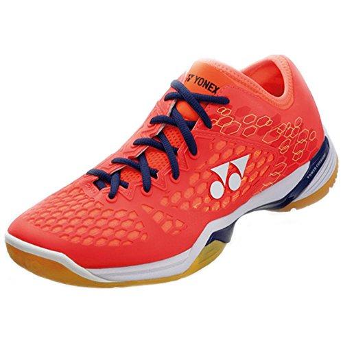 Yonex - Zapatillas de bádminton de Material Sintético para hombre Coral Red