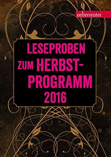 Ueberreuter Lesebuch Kinder- und Jugendbuch Herbst 2016 (German Edition)