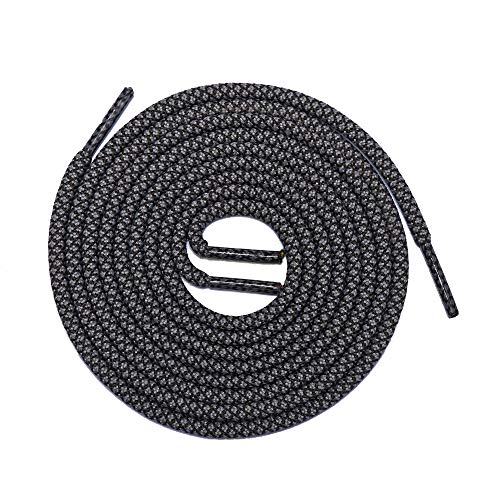 (Thick Shoelaces Round Athletic Shoe Laces (2 Pair) - For Sneaker and Hiking Boot Laces (40