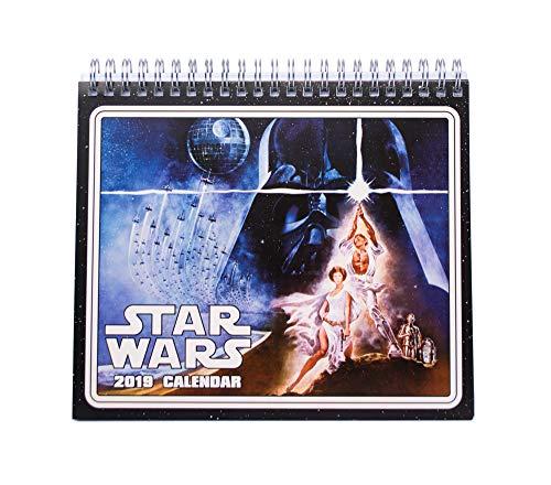 Grupo Erik editores cs19008–2019Star Wars Classic Desktop Calendar, 17x 20cm