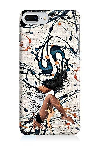 COVER Farbspritzer bunt Design Handy Hülle Case 3D-Druck Top-Qualität kratzfest Apple iPhone 7 Plus