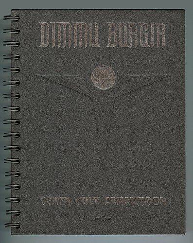 DIMMU BORGIR: DEATH CULT ARMAGEDDON [ Limited Edition Spiral Bound Steel Page Book with CD ]
