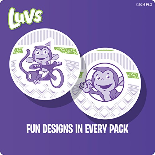 Large Product Image of Luvs Ultra Leakguards Disposable Diapers Newborn Size 1, 252 Count, ONE MONTH SUPPLY