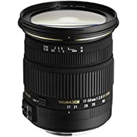 Sigma 17-50mm f/2.8 EX DC OS HSM FLD Large Aperture Standard Zoom Lens for Nikon Digital DSLR Camera - International Version (No Warranty)