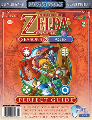 Versus Books Official Legend of Zelda Oracles of Seasons & Oracle of Ages Perfect Guide (Oracle Of Seasons And Oracle Of Ages)