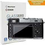 Fujifilm X100F / X100T / X-E2 / X-E2S Tempered Glass Screen Protector, Exuun Optical 9H Hardness 0.3mm Ultra-Thin DSLR Camera LCD Tempered Glass for Fujifilm X100F / X-100T Digital Camera