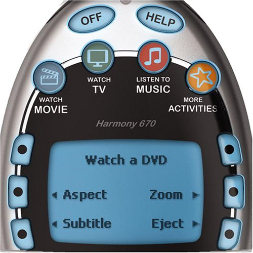 Logitech Harmony 670 Universal Remote (Discontinued by Manufacturer) by Logitech