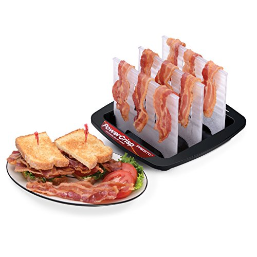 Presto Bacon Microwave Cooker, Black