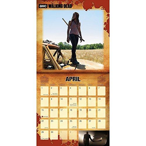 2018 Walking Dead Wall Calendar Photo #2