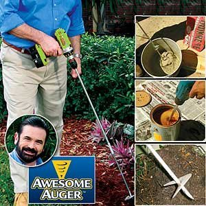 Planting Auger (Awesome Auger Professional Gardening Tool)