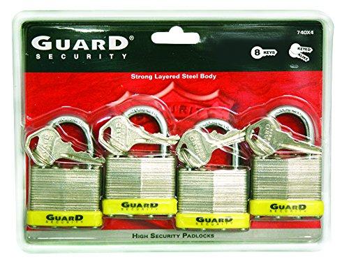 Guard Security 740X4 Laminated Steel Pad