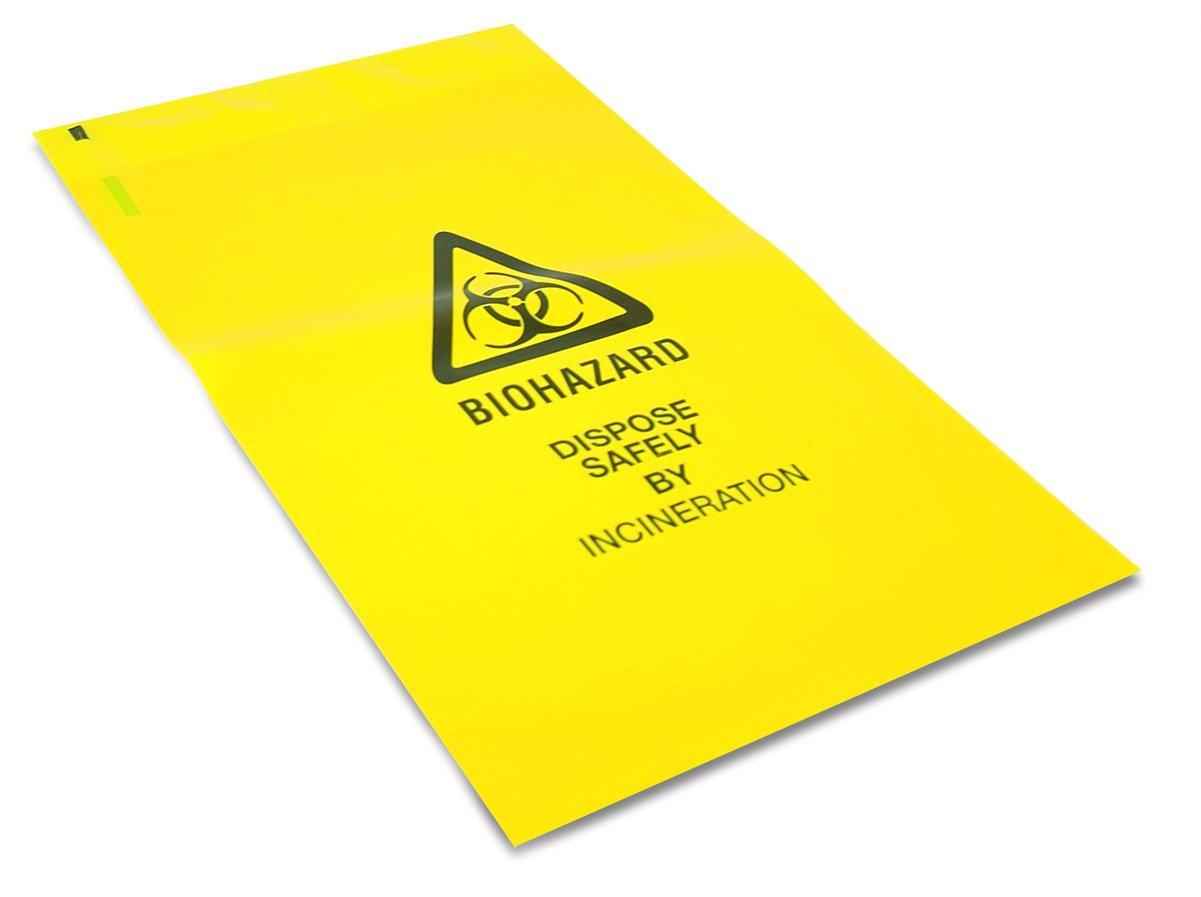 25 x Bolsas Amarillas Resistentes para Desperdicios Clínicos ...