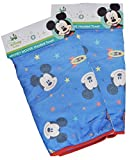 Mickey Square Hooded Towel, Microfiber with Printed Wrap