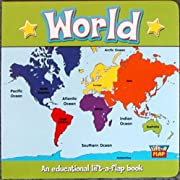 World (Lift-a-flap) de The Clever Factory