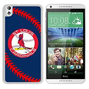 Popular Custom Designed Case For HTC Desire 816 With St. Louis Cardinals White Phone Case