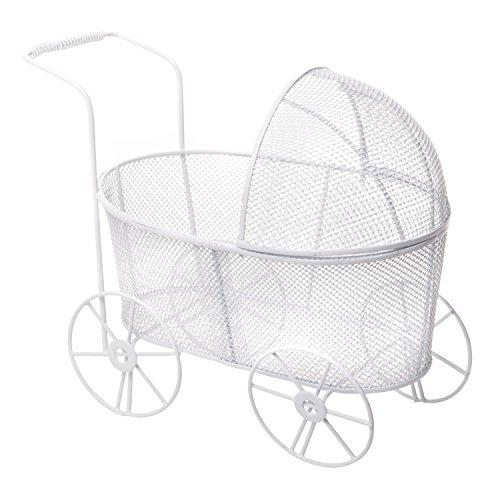 Wire Baby Stroller Centerpieces - 1