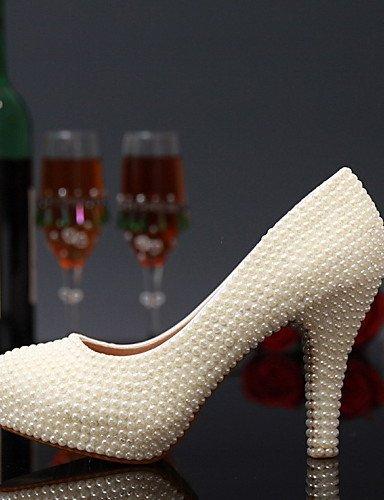 ShangYi - Damen - Hochzeitsschuhe - Absätze - High Heels - ShangYi Hochzeit / Party & Festivität - Silber 4in 61a23b